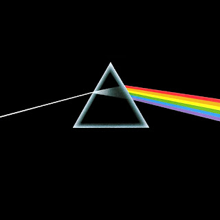 La preciosa y simple portada del The Dark Side of the Moon