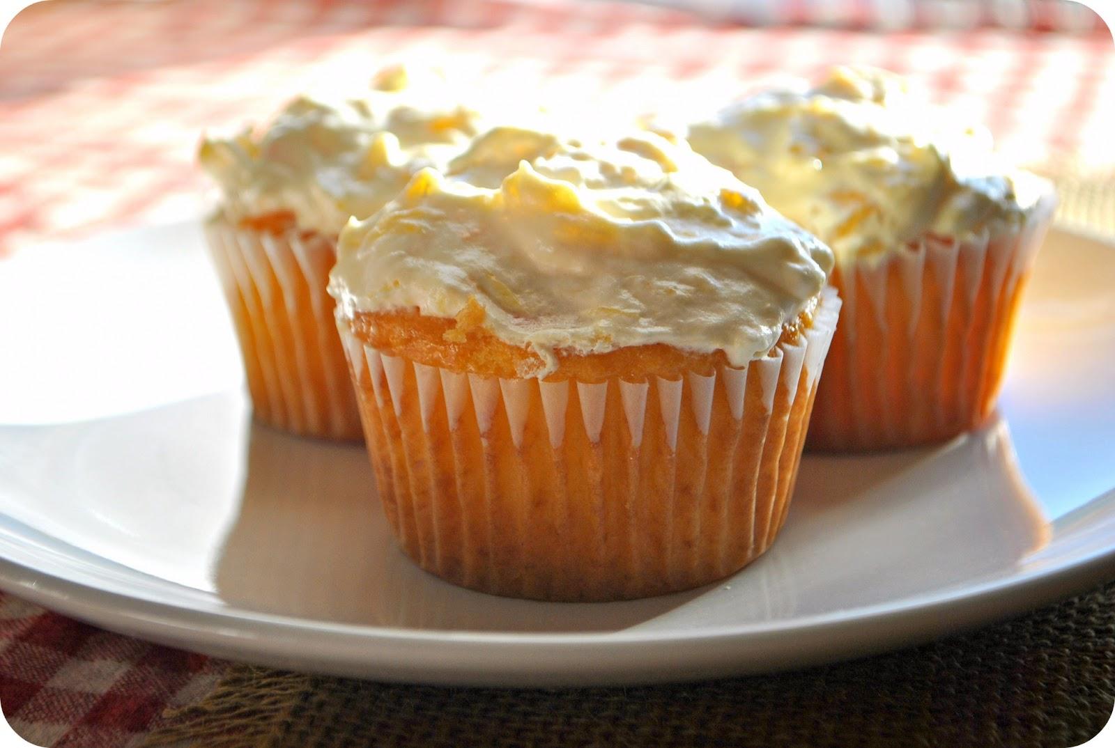Pig Pickin Cake Cupcakes