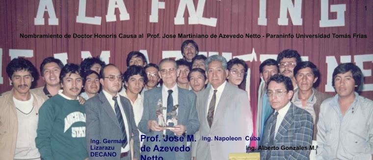 JOSE MARTINIANO DE AZEVEDO NETTO