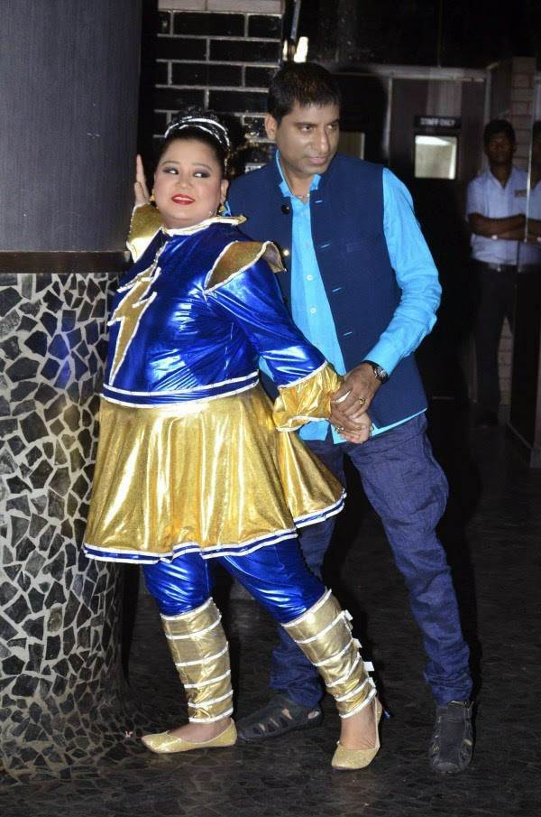 Raju Srivastav and Bharti