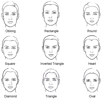 hair styles to match face shape