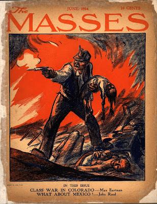 John Reed (1887-1920) - Biografía publicada en webcindario.es - en los mensajes: fotografías y enlace a un texto de Howard Zinn Masses_1914_John_Sloan
