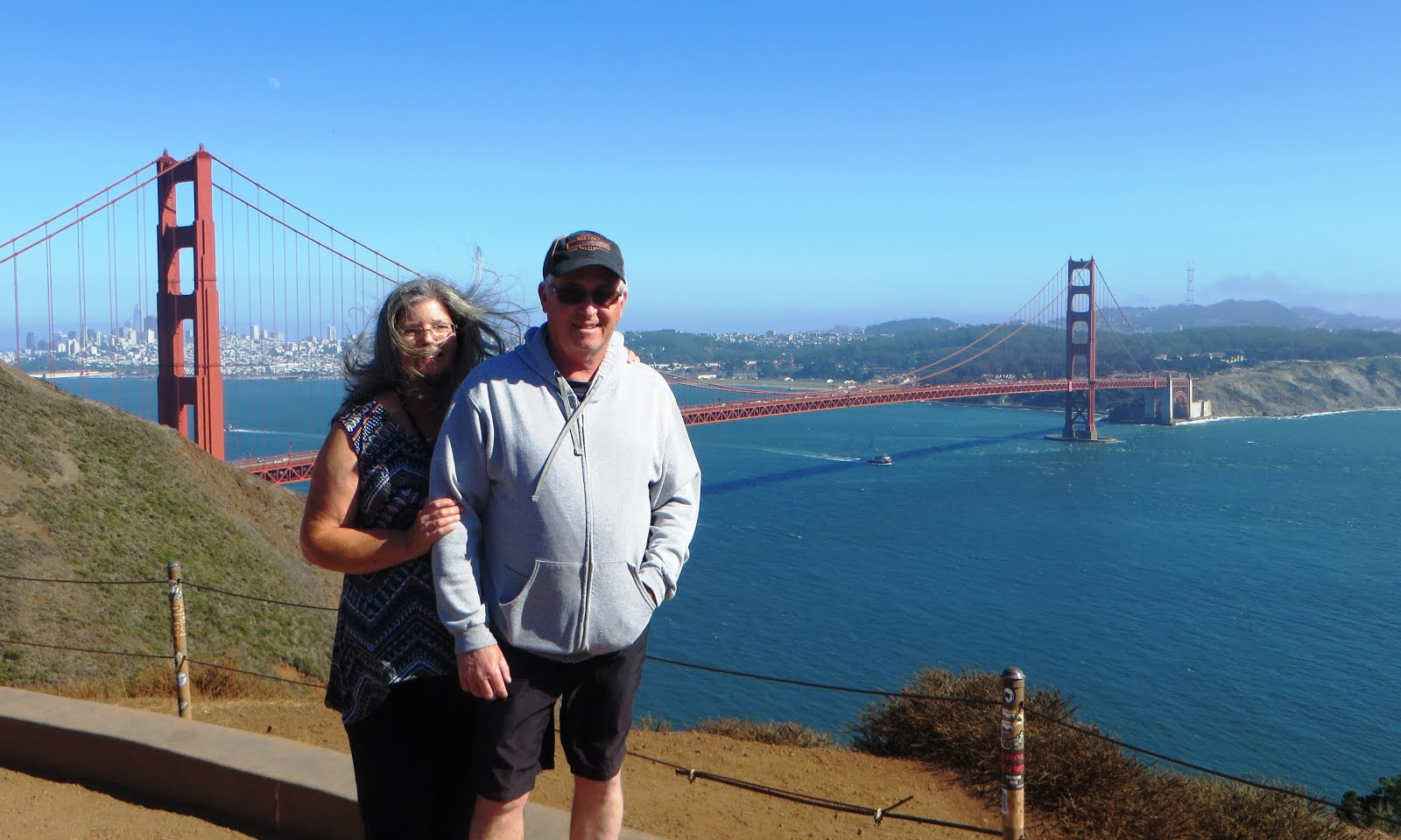 A Favorite RV Stop - Golden Gate Bridge, San Francisco, CA