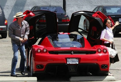 Nicolas Cage Ferrari Enzo Most Expensive Celebrity Cars