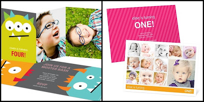 photo birthday invitations