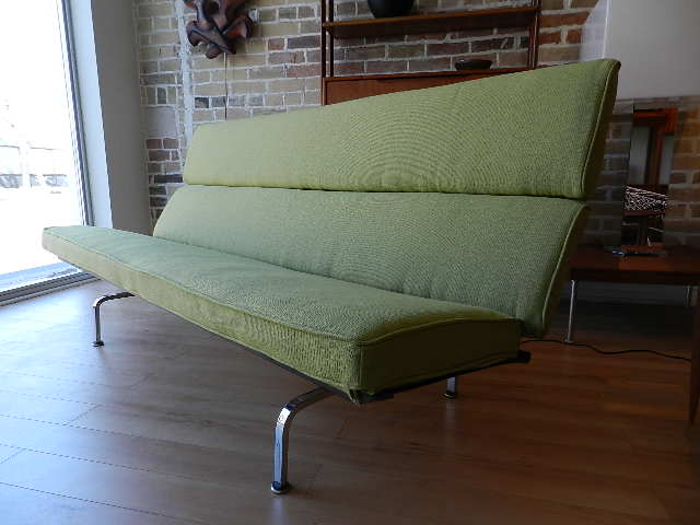 Zig Zag: Charles Eames Sofa   Sold