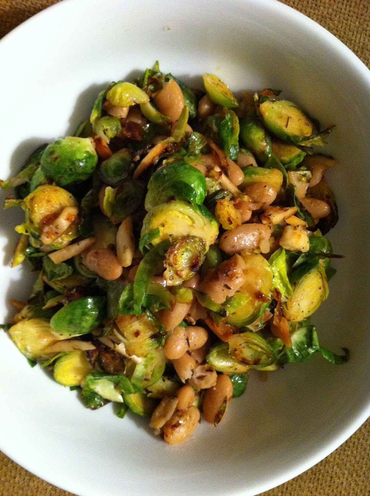 Brussels Sprouts With White Beans And Pecorino Recipes — Dishmaps