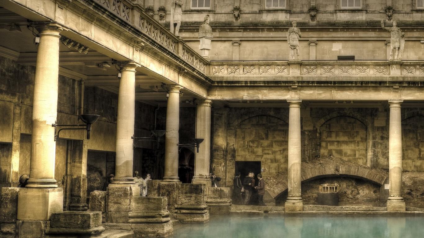 Baños Romanos De La Luisiana:destinados a baños típicos de la civilización romana En las