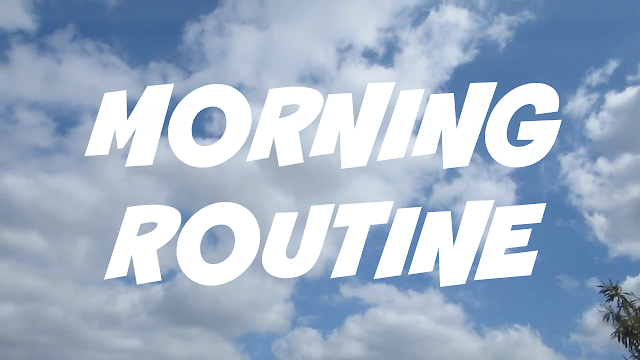 morning routine shoutjohn sky cloud