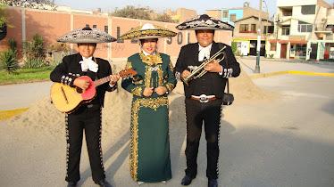 El Charrito Andy Brian, La Charra Milagros, y César Rivera