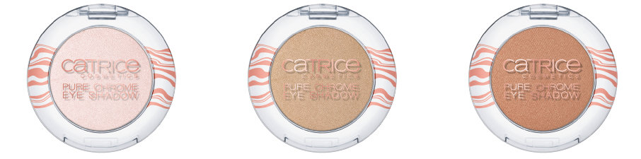 Catrice Lumination LE: Pure Chrome Eyeshadow C01 Radiant Rose, C02 Stargazer, C03 Interstellar