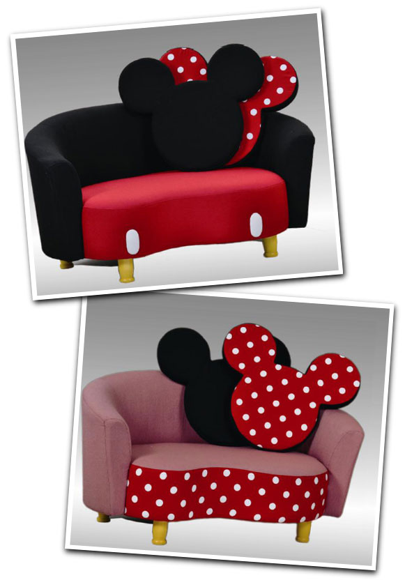 Muebles de mickey y minnie para los ni os decoracion de for Muebles disney