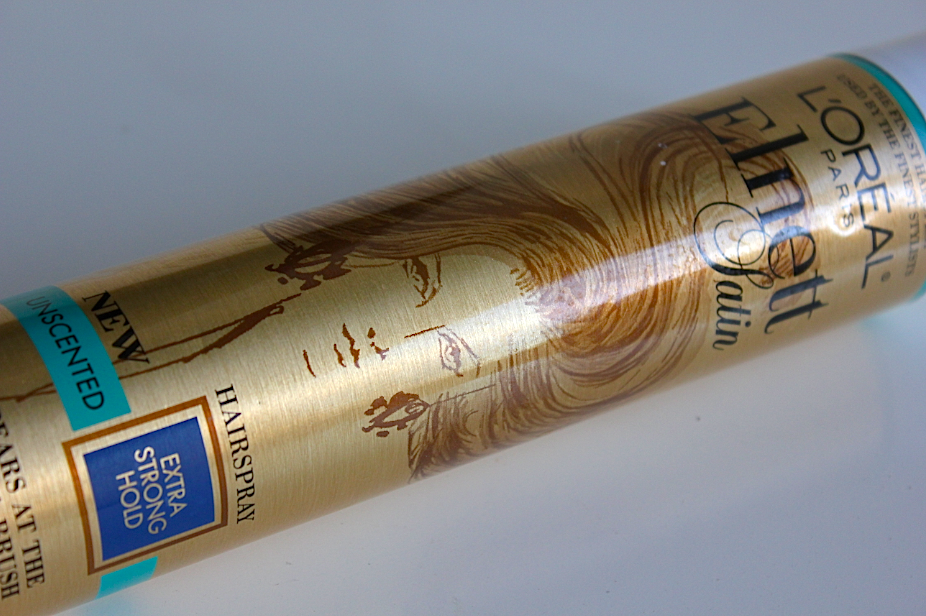 L'Oreal Elnett Satin Hairspray Holy Grail Products