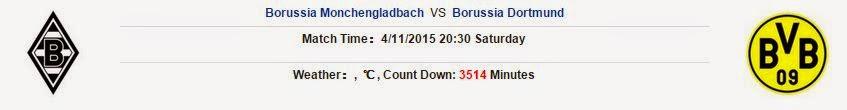 Soi kèo cá cược Monchengladbach vs Dortmund