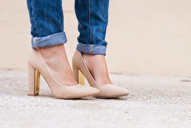 Zapatos de Suiteblanco en Nude Streetstyle