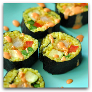 Yellow Rice Sushi