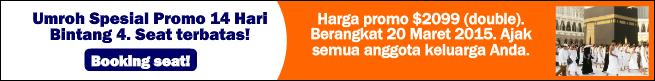 Paket Umroh Maret 2015