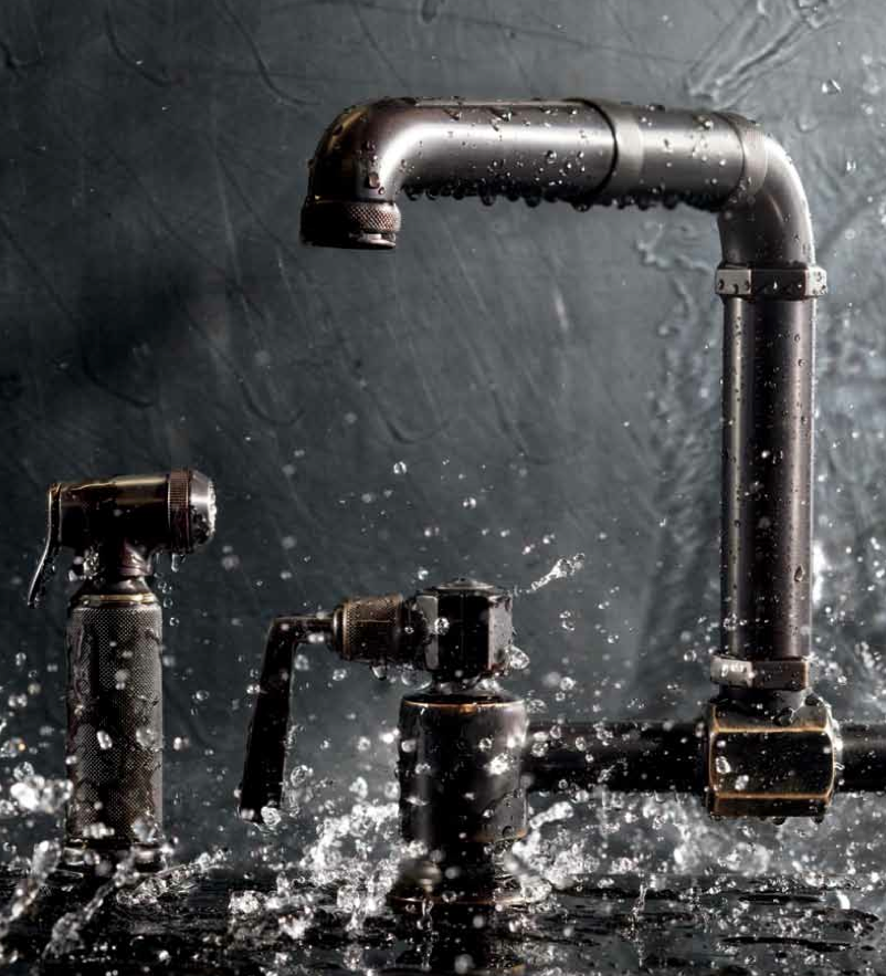 Industrial Faucet : ... and architecture blog: Cold industrial bathroom THE WEEKLY WANT