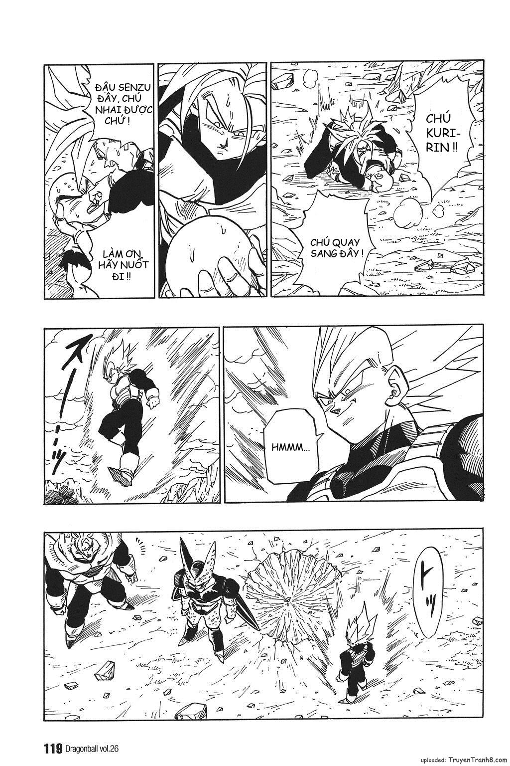 xem truyen moi - Dragon Ball Bản Vip - Bản Đẹp Nguyên Gốc Chap 383