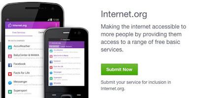 internet.org gratis dari facebook berkerjasama dengan indosat