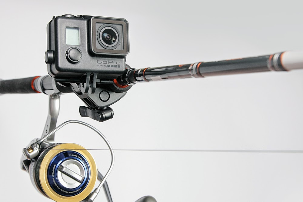 Gopro sportsman rod and gun mount arrives gac finally for Best gopro for fishing