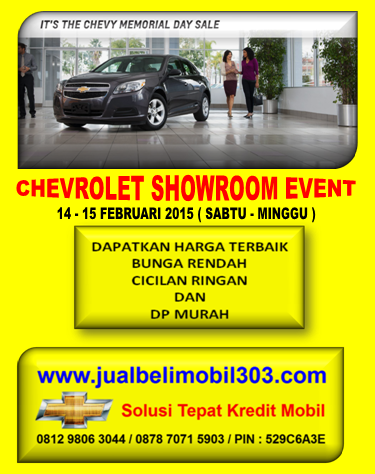 CHEVROLET SHOWROOM EVENT