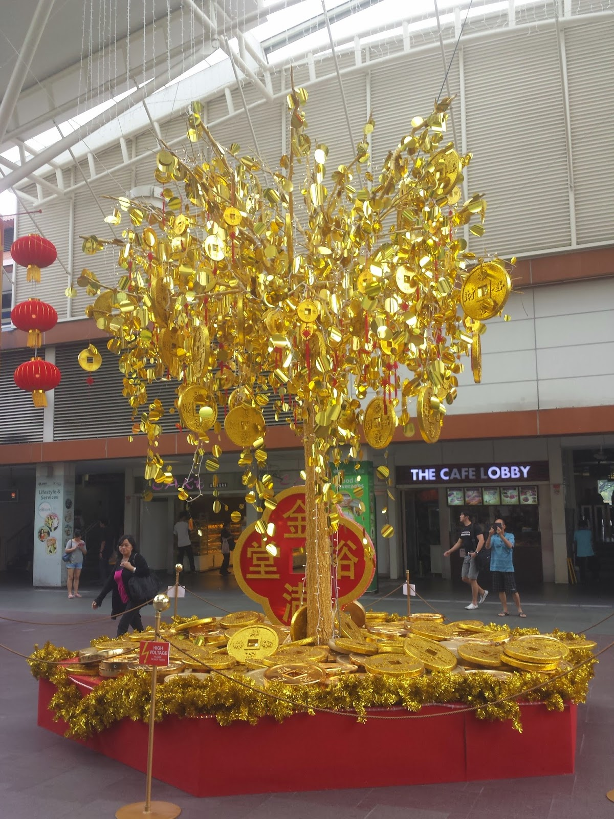 somewhere in singapore blog chinese new year decorations jurong point. Black Bedroom Furniture Sets. Home Design Ideas