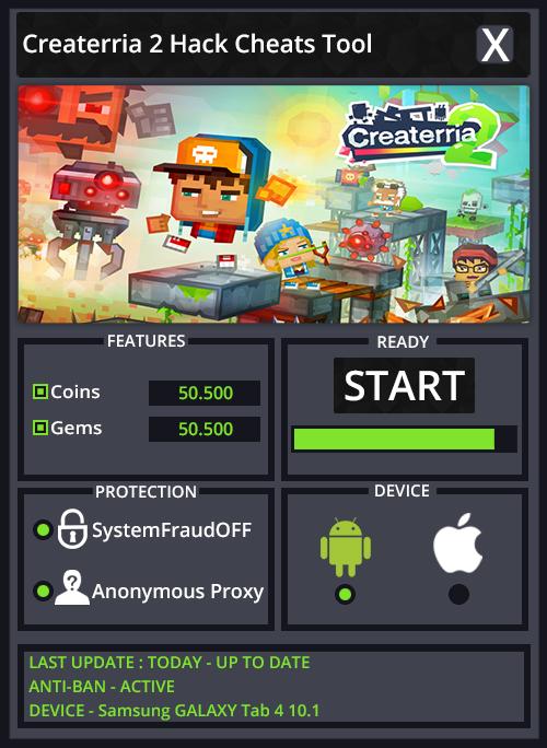 Createrria 2 Hack