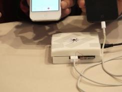 Pengecas iPhone yang digelar 'Mactan'.