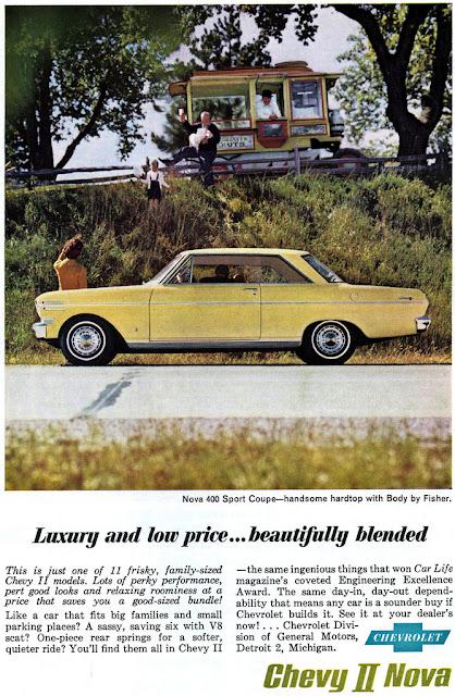 シボレー・ノヴァ(シェビーII) 初代&2代目 | Chevrolet Chevy II / Nova [1961年-'67年]