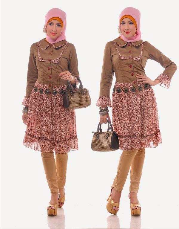 Busana Muslim Pesta Wanita Model Baru 2015