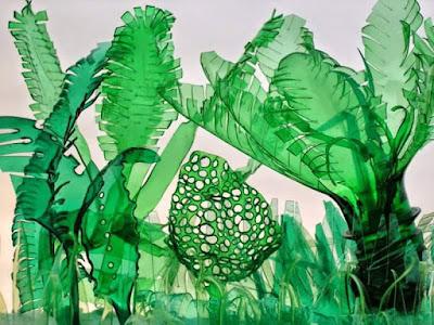 Hoa Handmade Từ Chai Nhựa 1
