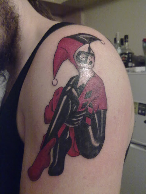 Harley Quinn Tattoo - Shoulder Tattoo