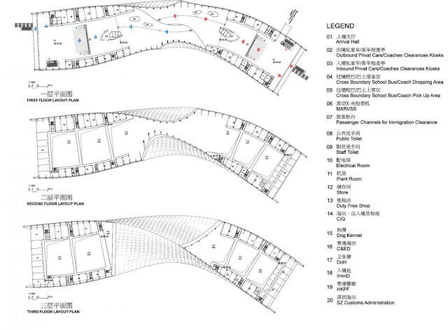 Detailed floor plans of other floors