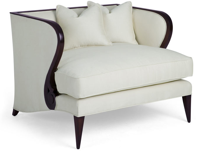 Decoraci n tendencias en estilo cl sico sillones de dos for Sillon dos plazas