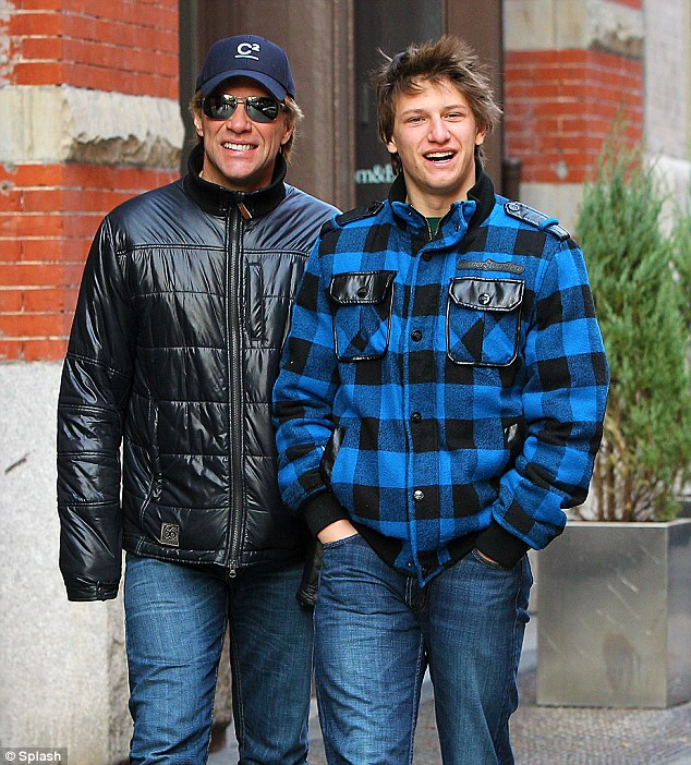 Chatter Busy: Jon Bon Jovi's Son Joins Notre Dame Football ...