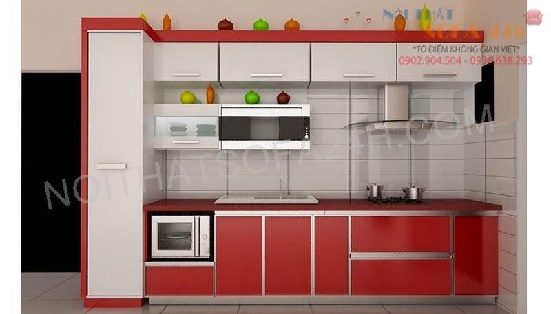 Tủ bếp TB062