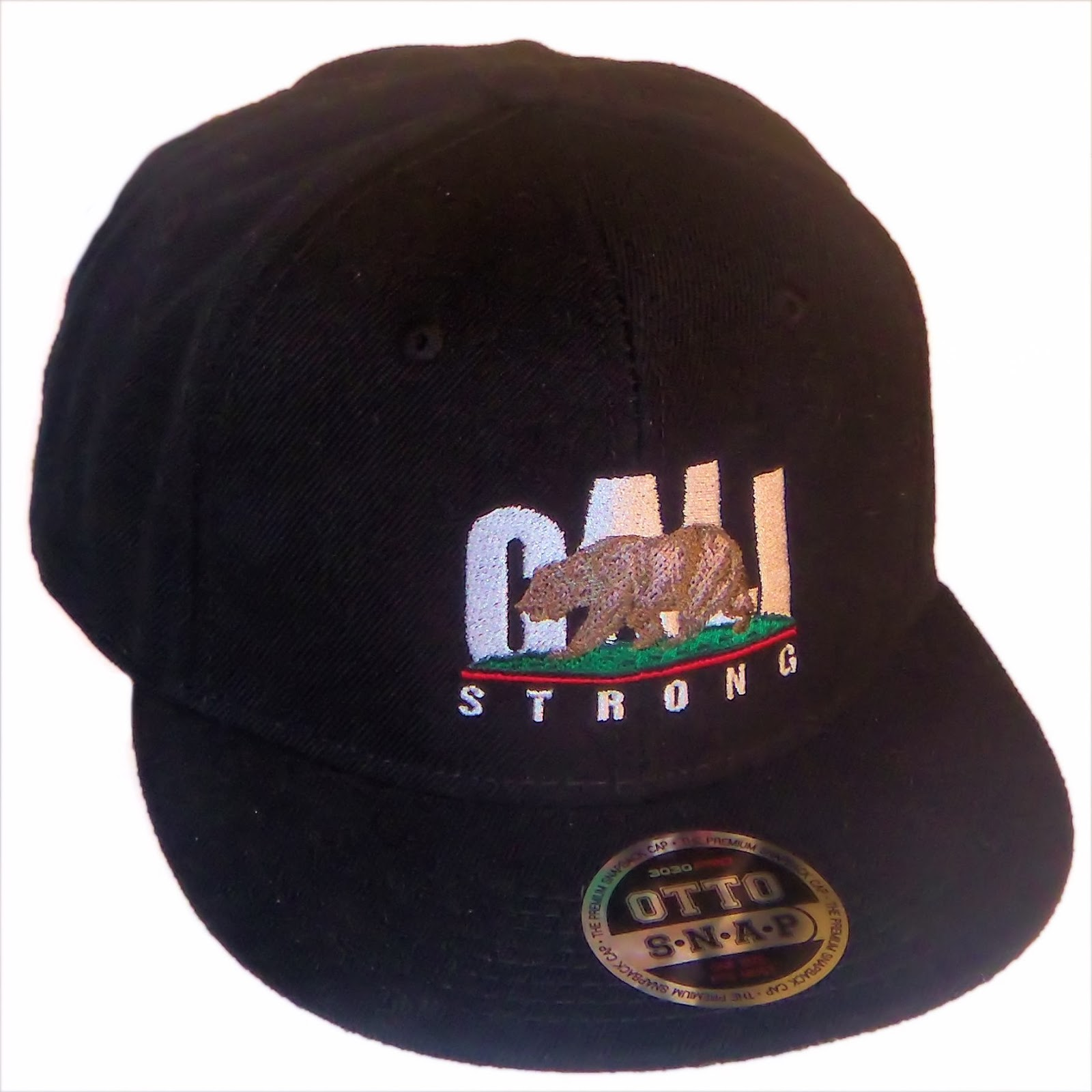 CALI Strong Flat Bill Snapback Cap Rare Edition V 1.0
