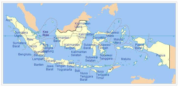 Catatan Prakata Daftar Nama Dan Lambang 34 Provinsi Di Indonesia