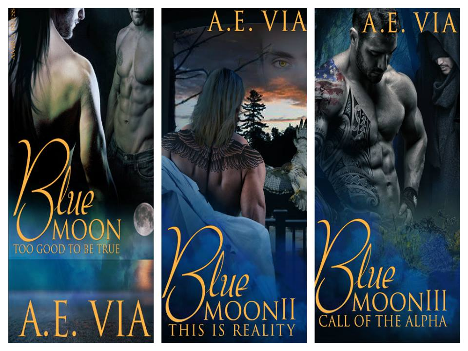 Blue Moon series | AE Via