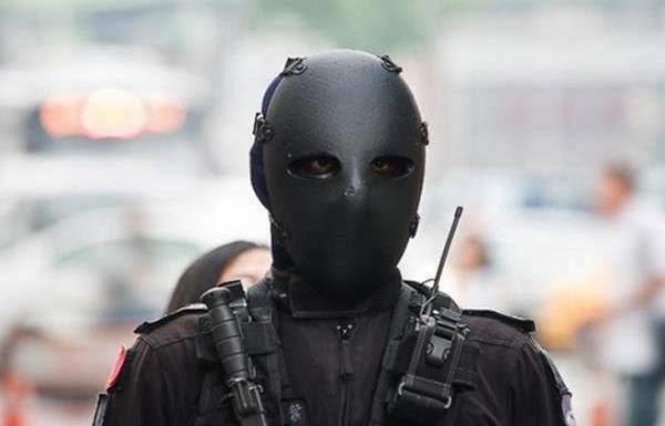Os assustadores uniformes do exército de Taiwan