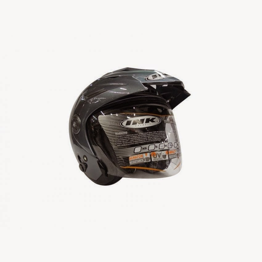 Harga Helm INK-T1- Half Face-Abu-Abu
