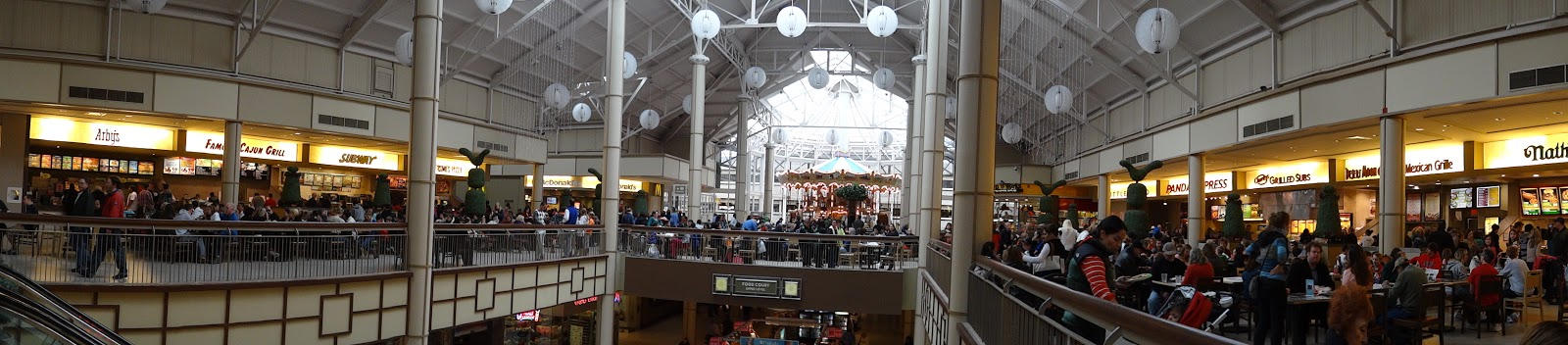 Danbury Fair Mall Food Court