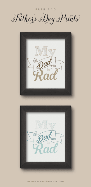 father's day prints