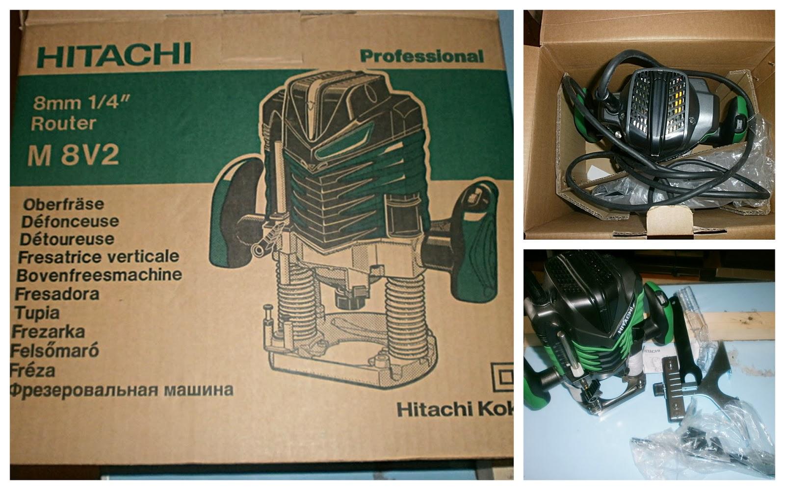 Упаковка фрезера Hitachi M 8V2