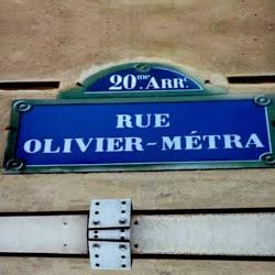 Rue Olivier Métra