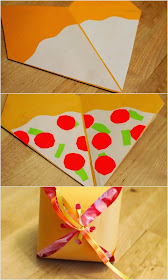 how to decorate your diy pizza gift container box