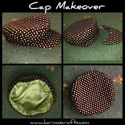 cap makeover tutorial