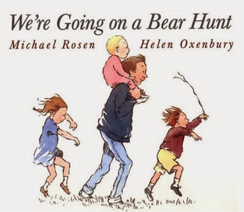 We're Going on A Bear Hunt, see more at lessordinarylibrarian.blogspot.com
