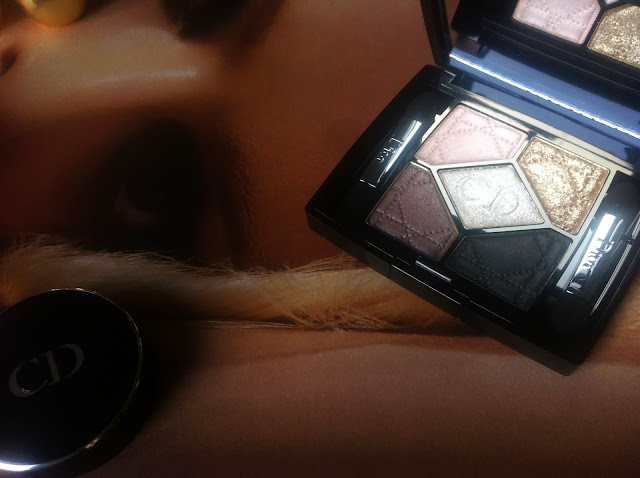 DIOR Natale 2013 Golden Winter Collection make up 5 couleurs ombretti eyeshadows